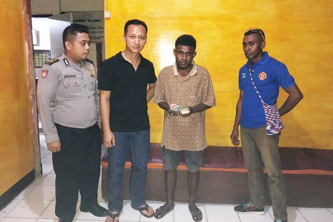Penangkapan DPO Pemerasan Penganiayaan dan Perusakan di SPBU