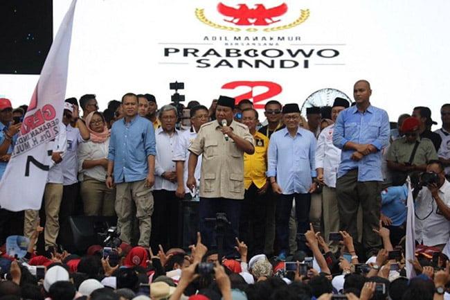 Prabowo Presiden, Pemilu Indonesia Terbersih dan Termurah di Dunia