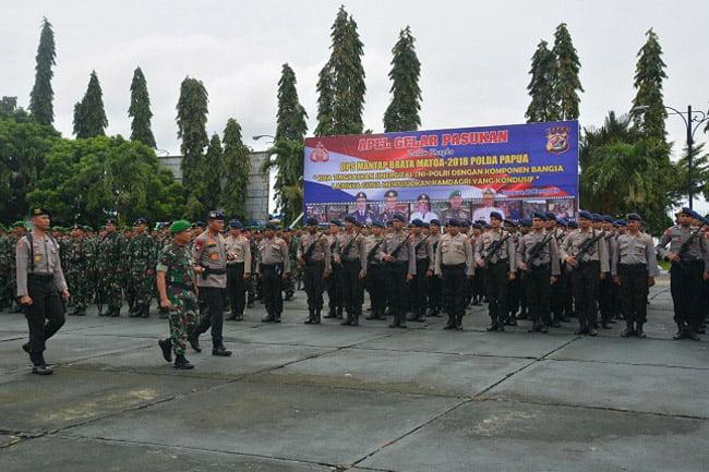 TNI Polri Gelar Kesiapan Pengamanan Kampanye Terbuka Pemilu 2019