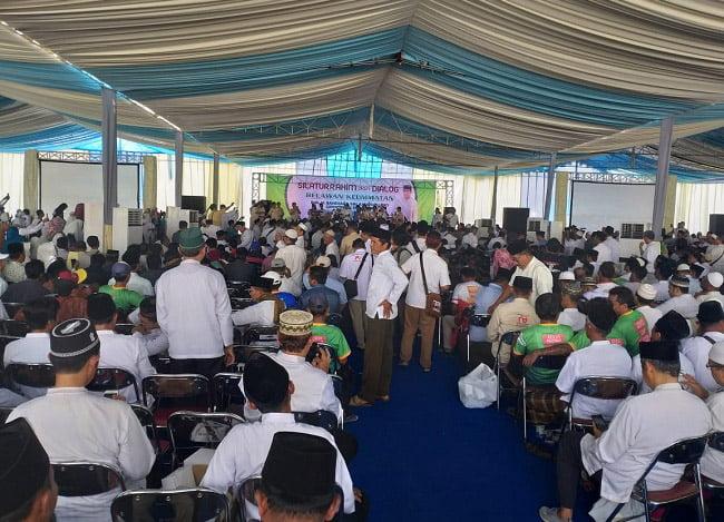 Sandi dan 146 Ulama Dialog Bareng Relawan Keumatan Se Tapal Kuda