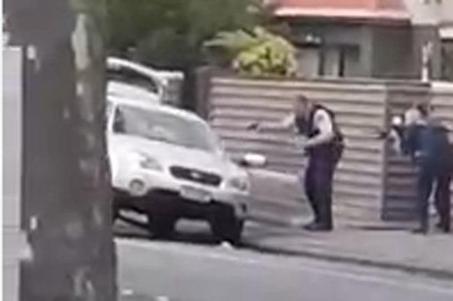 Video Penangkapan Teroris Penembakan di Masjid di Selandia Baru