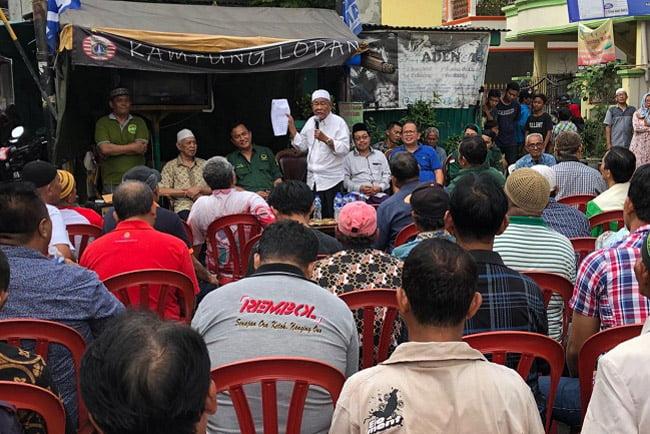Yusril Ihza Mahendra Siap Bela Warga Kampung Japat Melawan Pelindo