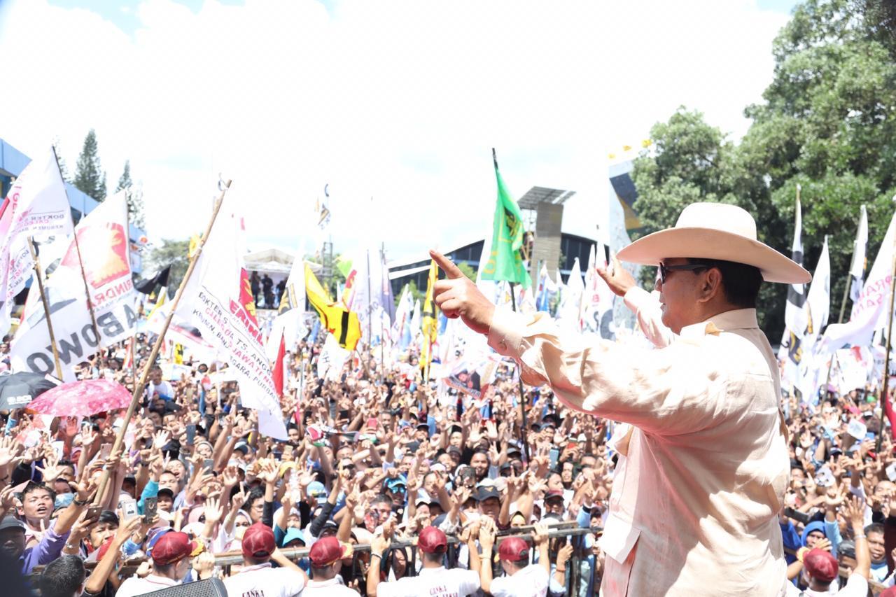 Prabowo: Kapan Lagi Putra Purwokerto Masuk Istana