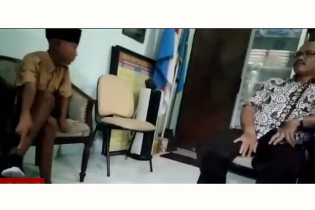 Video Viral, Siswa SD Marahi Guru di Ruang Guru