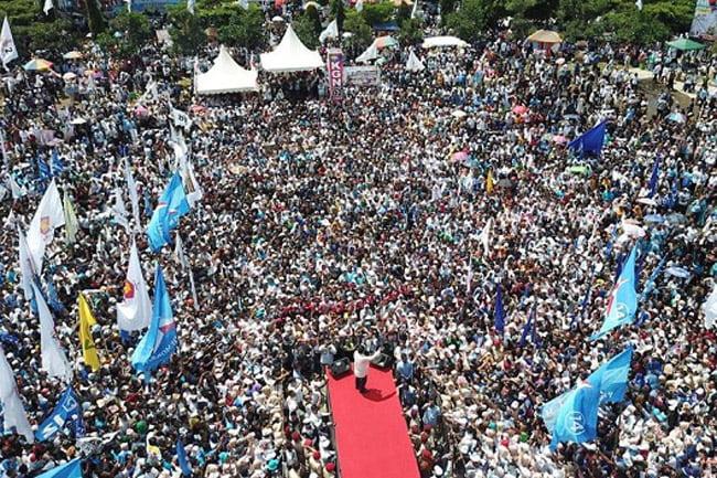 Prabowo: Ibu Pertiwi Sakit Karena Elit di Jakarta Tak Mampu Urus Negara