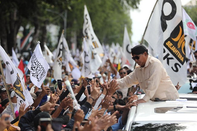 BPN: Massa Kampanye Jadi Bukti Hasil Survei Ungguli Prabowo-Sandi
