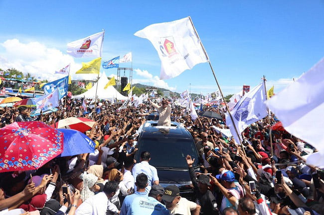 Prabowo: Jaga TPS, Jangan Sampai Hantu dan Orang Mati Ikut Milih