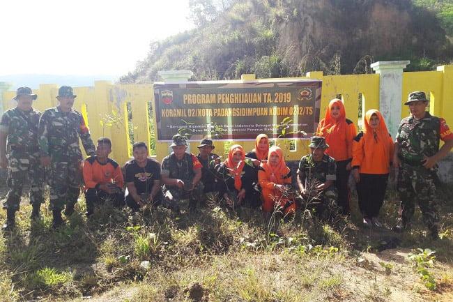 Koramil 02/Kota Hijauankan Komplek Perkantoran Kota Padangsidimpuan