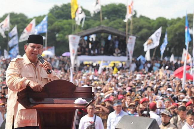 Kampanye di Solo, Prabowo: Sebentar Lagi Indonesia Menang