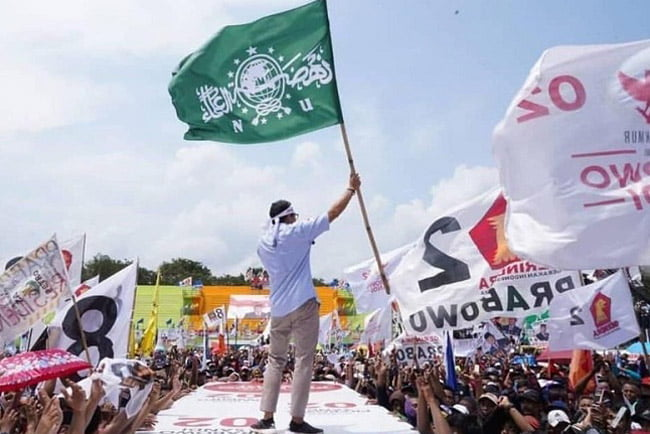 PCNU Lumajang Kecewa Sandiaga Kibarkan Bendera NU Saat Kampanye