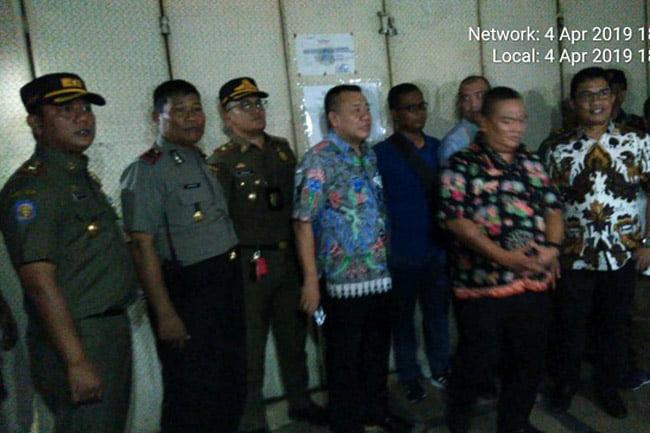 Diskotik Old City Jakarta Barat Disegel Aparat Gabungan