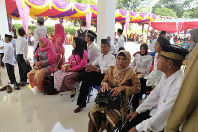 Ratusan Pasangan Suami Istri di PALI Sumatera Selatan Ikuti Isbat Nikah