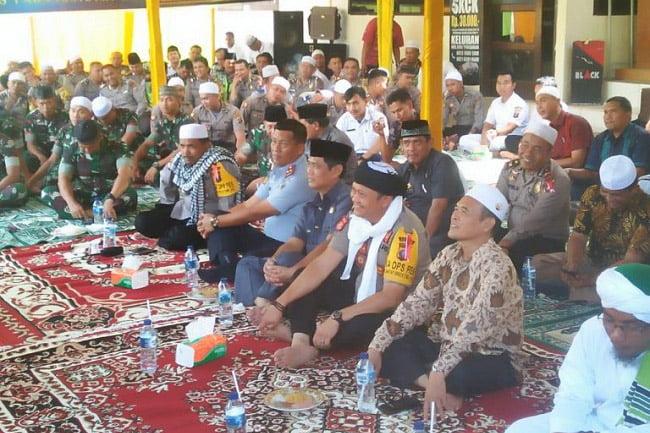 Jajaran Polres Padangsidimpuan Peringati Isra Miraj