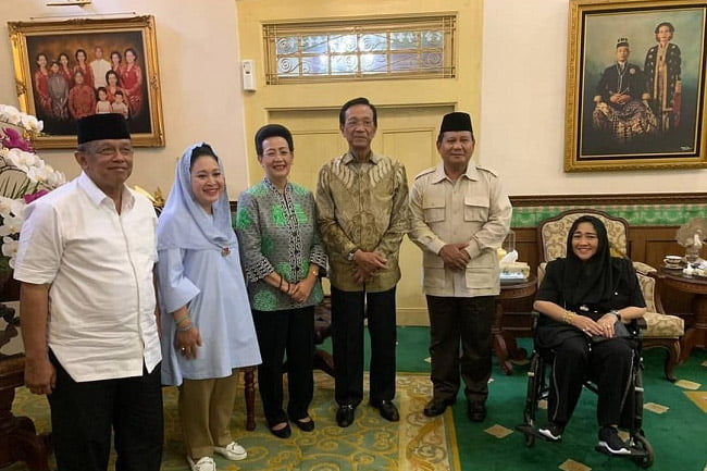 Sri Sultan HB X Minta Prabowo Jaga NKRI dan Pancasila