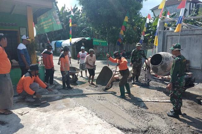 Tingkatkan Kesejahteraan Rakyat, Kodim Solo Gelar Karya Bhakti Daerah