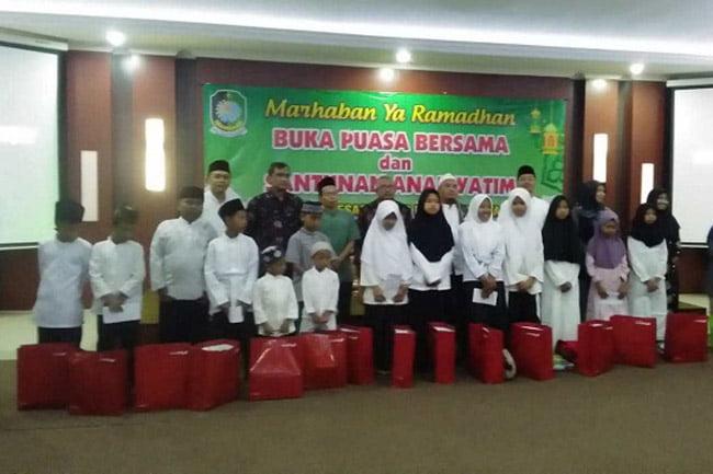 Bukber Ramadhan, BPKAD Banyuwangi Santuni Anak Yatim dan Dhuafa