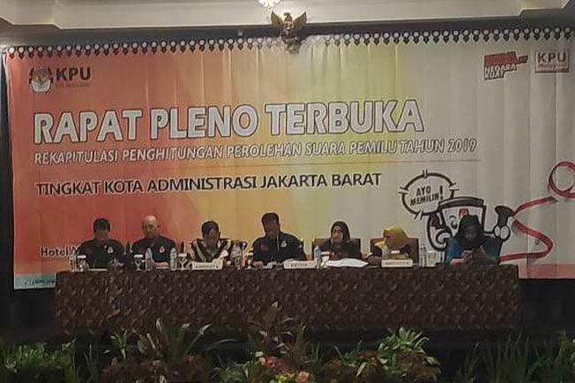 Tak Ada Kecurangan Rekapitulasi Suara di Jakarta Barat