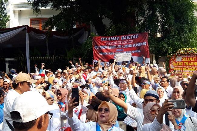 Jasma Padi Gelar Syukuran Kemenangan Prabowo-Sandi