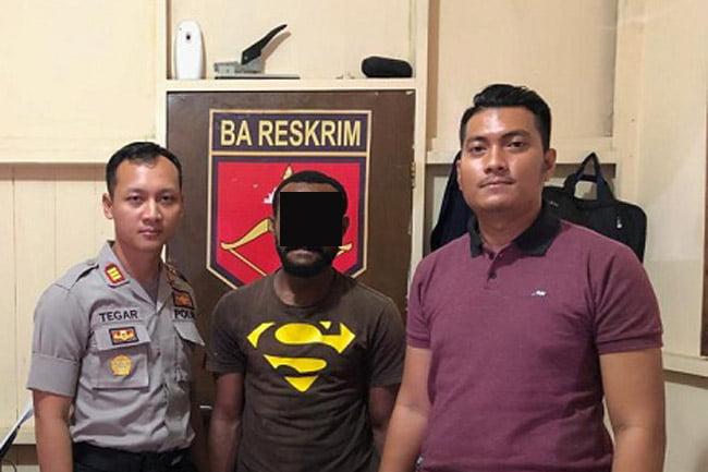Pelaku Penganiayaan dan Percobaan Pemerkosaan Diciduk Polsek Sorong Kota