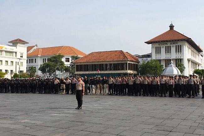 Polres Metro Jakarta Barat Siagakan 529 Pasukan Amankan Aksi 22 Mei