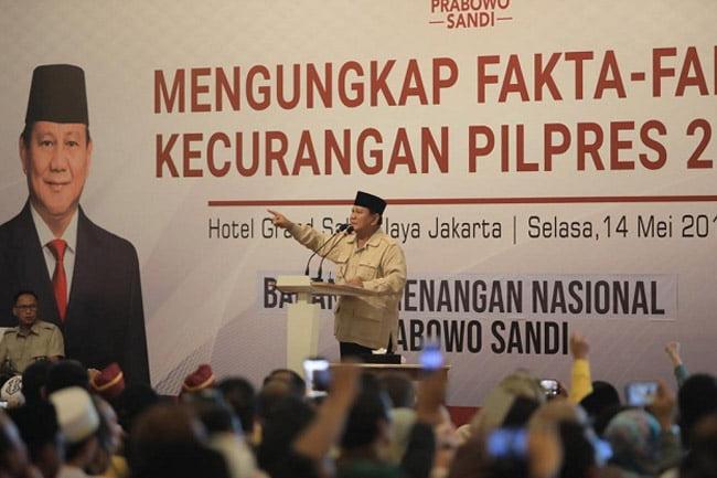 Prabowo Siapkan Surat Wasiat, Terus Berjuang Lawan Kecurangan Pemilu