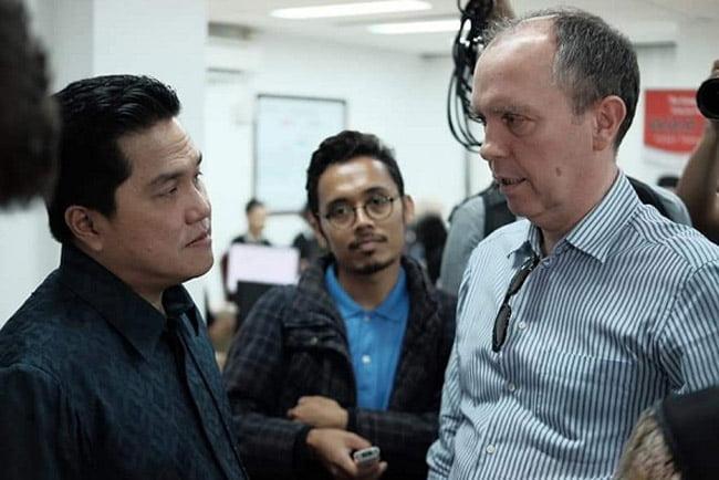 Erick Thohir Undang 50 Media Asing Melihat War Room TKN