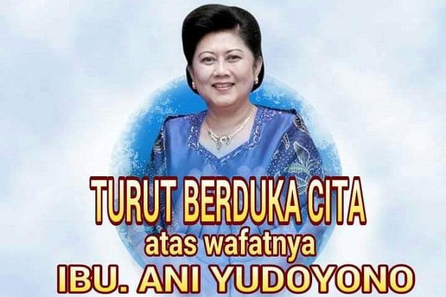 Pernyataan Keluarga Besar Yudhoyono Atas Wafatnya Ibu Ani Yudhoyono