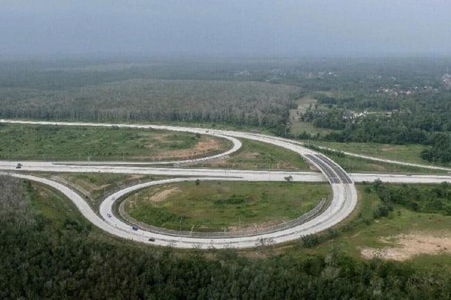 Jalur Tol Kayu Agung ke Pematang Panggang Diberlakukan One Way