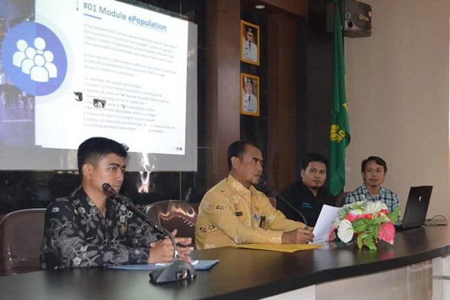 Kabupaten Wajo Launching Sistem Informasi Agenda Terpadu