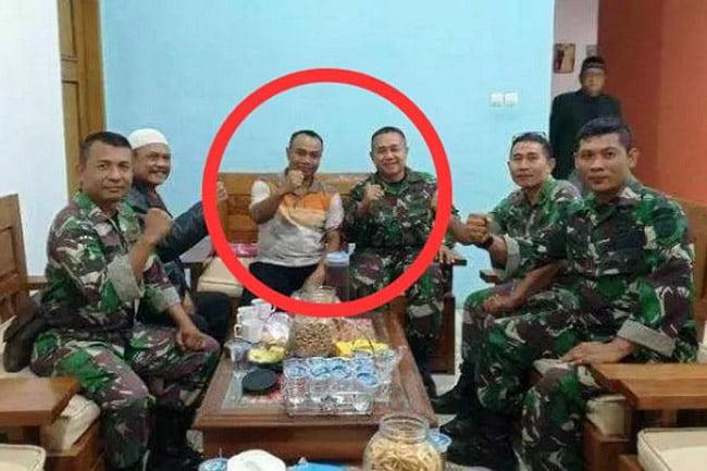 Serka Sukaro, Babinsa Bumiayu Brebes Yang Terpilih Jadi Kepala Desa