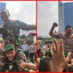 Anggota Polres Metro Jakarta Barat Serbu Markas Kodim 0503