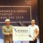 Mhomecare Menang di Indonesia-Korea Startup Demo Day 2019