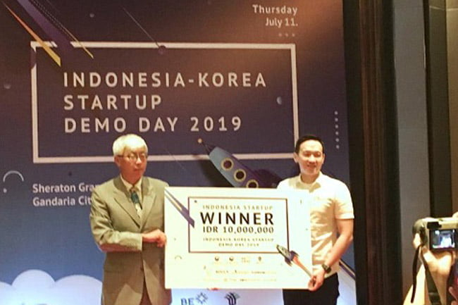 Mhomecare Menang di Indonesia-Korea Startup Demo Day 2019