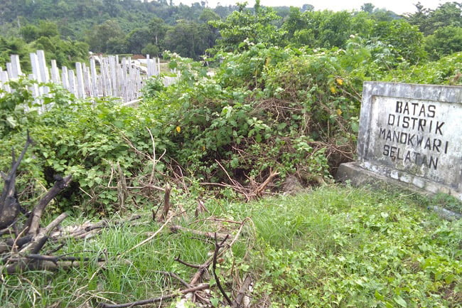 PT Bias Sinar Abadi Tak Tuntaskan Proyek Box Cluvert Bandara Rendani