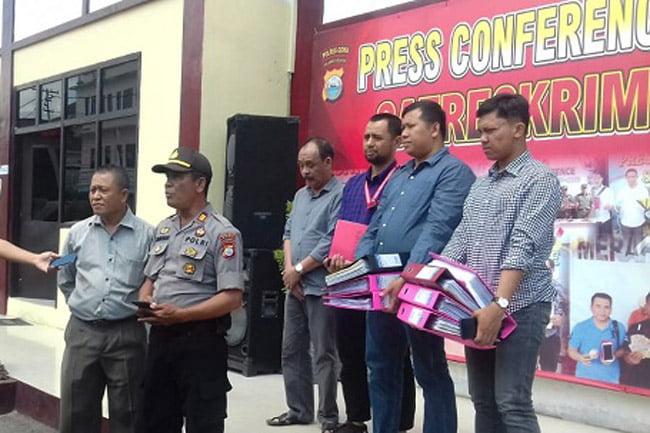 Polres Gowa Limpahkan Kasus Dana Desa Bate Gulung ke Kejari