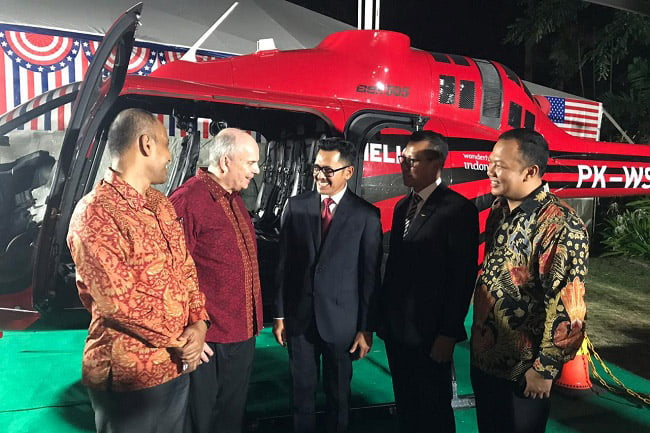 Whitesky Aviation Bangun Bandara Komersial Helikopter di Indonesia