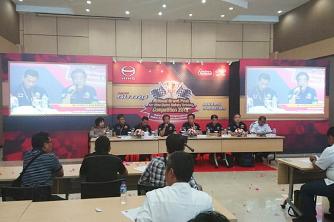 HMSI Kembali Gelar National Hino Safety Driving Competition