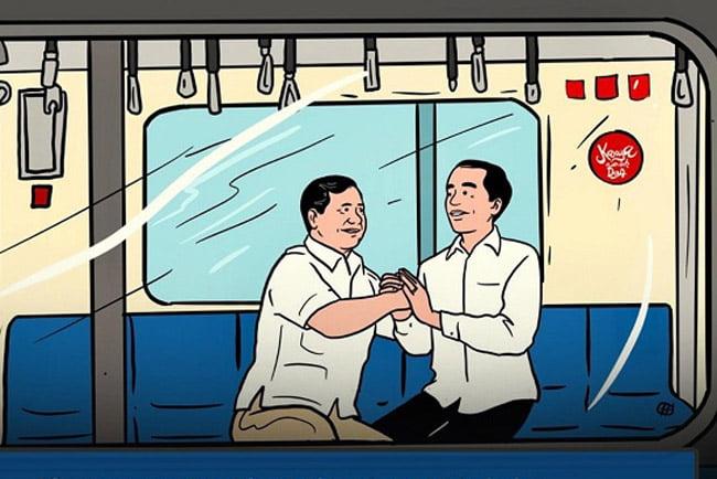 Cebong: We love you... Kampret: Astaqfirullah, Sebuah Opini Dimas Huda