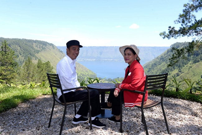 Presiden Puji Potensi Kawasan Wisata The Kaldera Toba Nomadic Escape