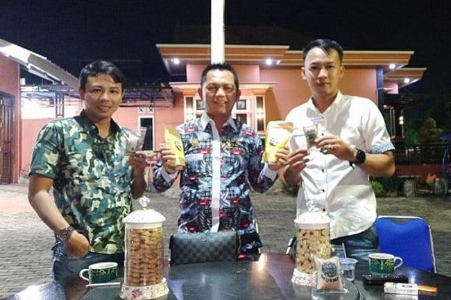 HIPMI Lampung Selatan Dukung Parfum Kopi Lampung Go Nasional