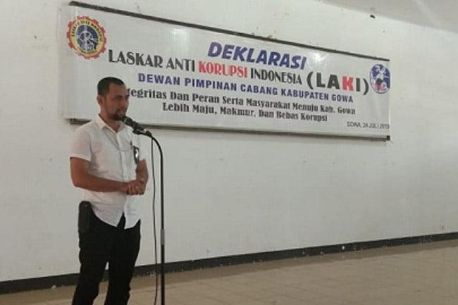 DPC Laki Gowa Apresiasi Polres Gowa Dalam Pemberantasan Korupsi