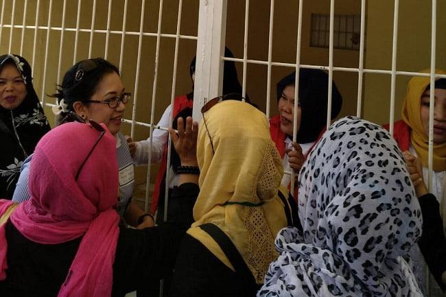 JAKI Hadiri Sidang Tuntutan Emak-Emak Ex Relawan Prabowo-Sandi