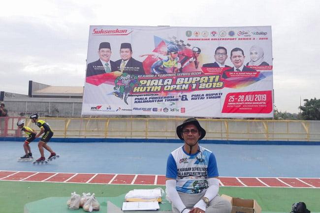 Nazmiannoor Jadi Wasit Nasional Piala Bupati Kutim Open I 2019