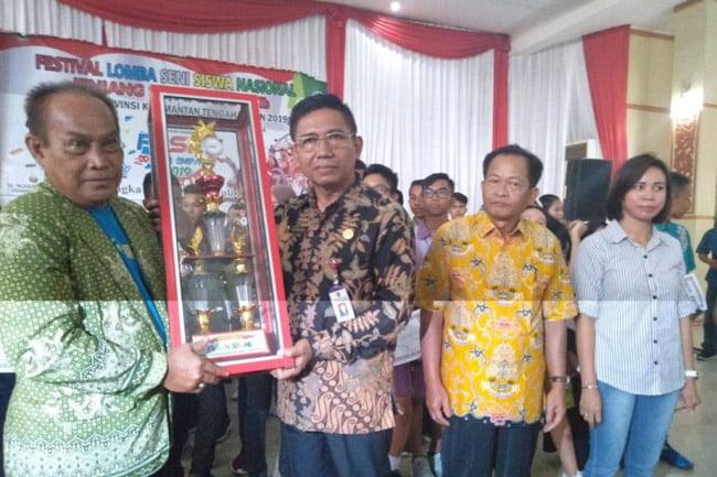 4 Siswa Kapuas Wakili Kalteng ke Tingkat Nasional O2SN dan FLS2N