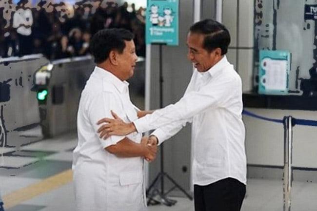 Pidato Jokowi dan Prabowo Dalam Pertemuan di Lebakbulus