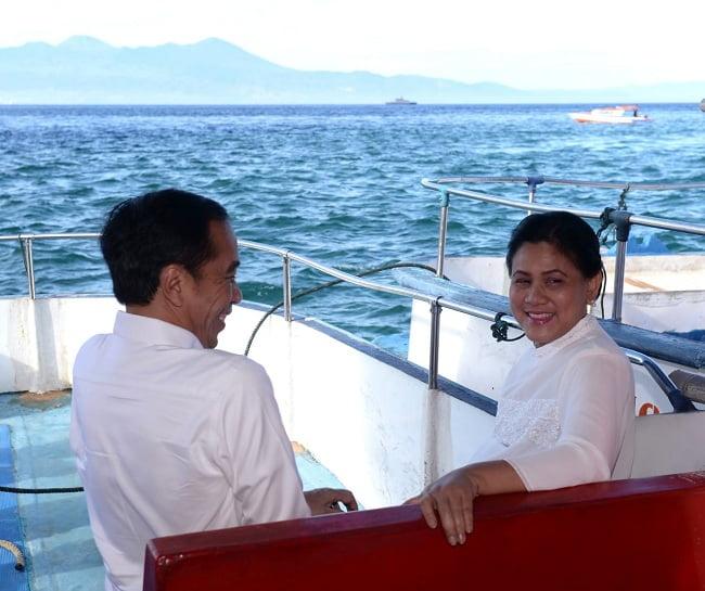 Presiden Jokowi Sambangi Kawasan Wisata Bunaken