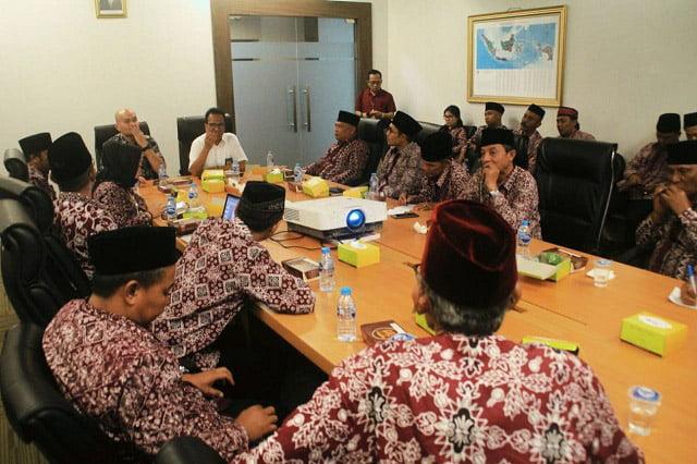 Aliansi Masyarakat Peduli Krakatau Steel Datangi Kantor Staf Presiden