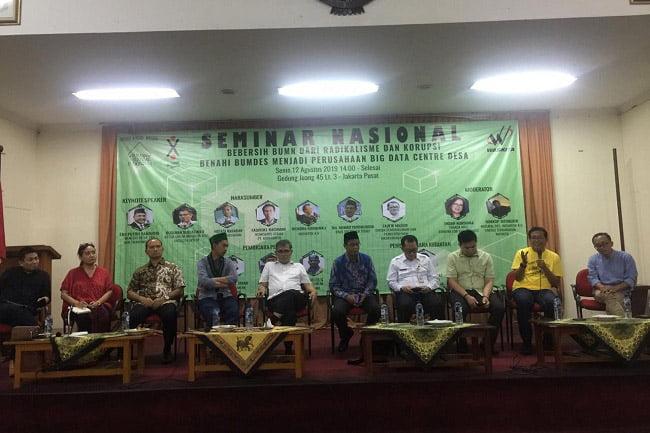 Seminar Nasional Bebersih BUMN dari Radikalisme dan Korupsi