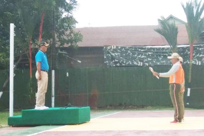 Makodim 1011 Kapuas Gelar Turnamen Bola Volly Dandim Cup 2019