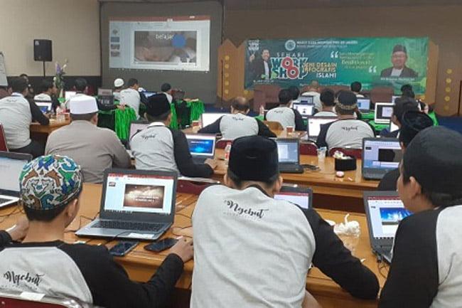 MUI Jakarta Adakan Workshop Seni Desain Grafis Islami
